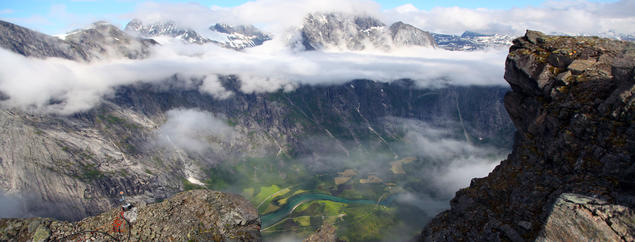 Picture from Mannen in Romsdal, Norway