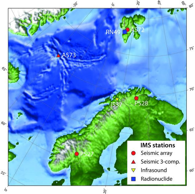 IMS station on Norwegoian territory