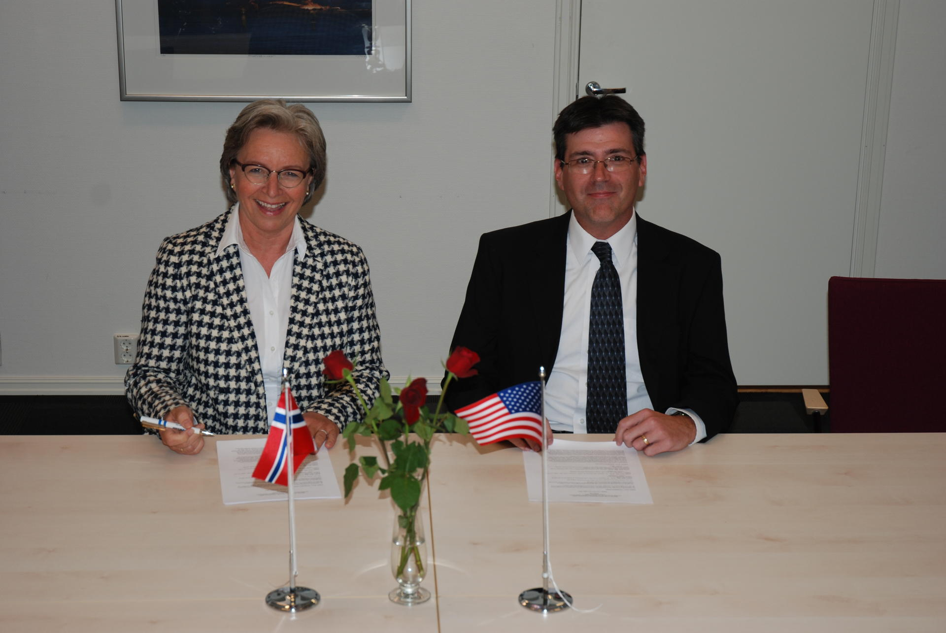 Signing of continued cooperation agreement with AFTAC