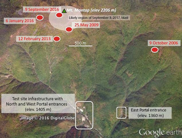 North Korea test site