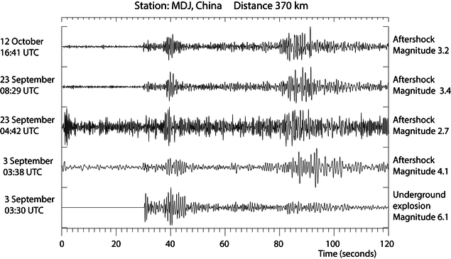 North Korea seismic event