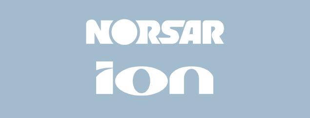 NORSAR - ION logos