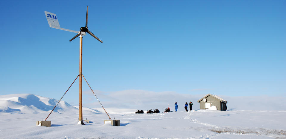 SPITS seismic station at Svalbard