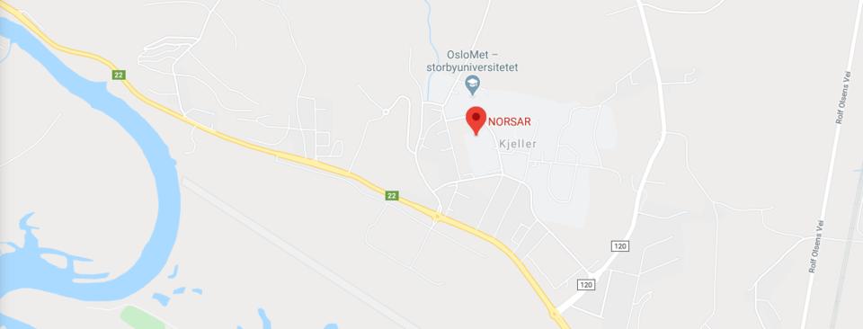 Map Kjeller